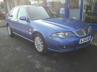2004 ROVER 45 1.4 CLUB SE 5 DOOR MANUAL MOT SEPT 88K