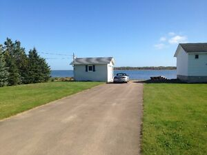 WATERFRONT 2 bdrm Cottage on large private lot and very quiet