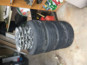 Michelin tires set of 4 and rims