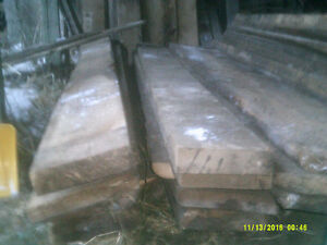 """REDUCED TO CLEAR  2"""" to 3"""" THICK THRESHING(FLOOR) BOARD Peterborough Peterborough Area image 2"""