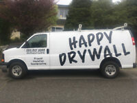 Happy Drywall - Small jobs, insulation, soundproofing, new built