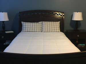 For sale: solid wood queen bedroom set
