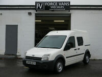 FORD TRANSIT CONNECT 1.8TDCi LWB MINIBUS CREW BAND CAMPER PANEL MPV BUS DAY VAN