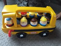 Children's Little tykes bus