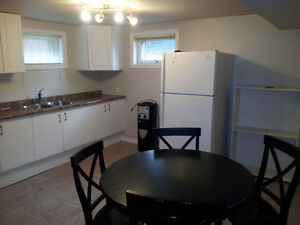 2 BR Bsmt Suite with Fenced Yard, Pet Friendly Downtown Area