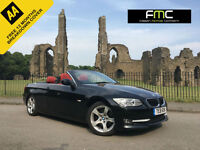 2011 BMW 320d SE Auto Convertible **Red Leather - Full BMW Service History**