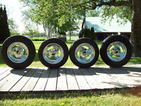 4  CLASSIC   RIMS  AND  TIRES.