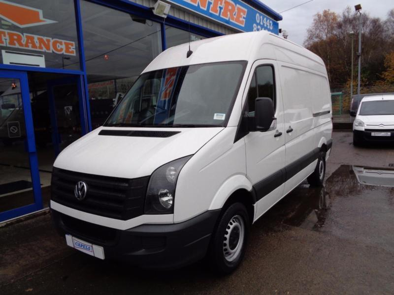7f79ac7a95 2014 VOLKSWAGEN CRAFTER CR35 TDI 109 MWB HI ROOF - FSH - 1 OWNER - UNDER VW  WARR