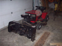 Lawnmower With Snowbower