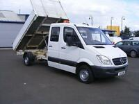 2011 MERCEDES BENZ SPRINTER 2.1 CDI BlueEFFICIENCY 313 Crewcab 4dr LWB