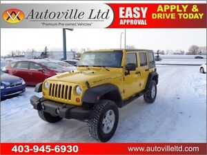 2008 Jeep Wrangler Unlimited Rubicon 90DAYSNOPYMNT!