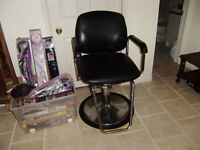 CLEARENCE SALE !!!: Salon Styling Chair/Hair Dryer/Display Cases