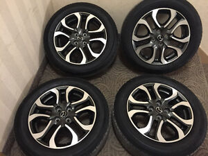Rims and tires mazda 2 195/60/16 tires toyo 4 bolts summer tires