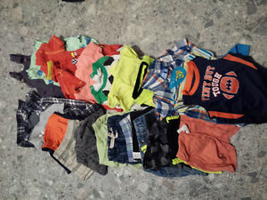 Large lot of summer boys clothes - 0 to 6 months