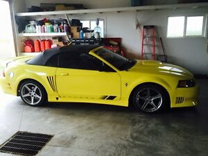 For sale - 2001 Ford Saleen mustang convertible