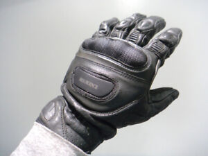 men's leather motorcycle gloves