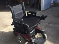 Electric wheel chair and hospital bed