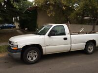 2002 Chevy 1500 new tranny new rack new tierod ends much more
