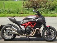 DUCATI DIAVEL CARBON RED, 2015, 7,822 MILES.