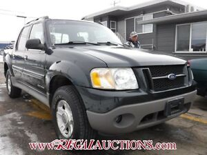 2002 FORD EXPLORER SPORT TRAC  4D UTILITY 2WD