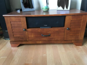 Tv stand and matching shelving unit