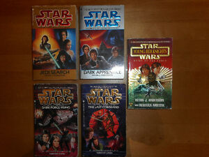 6 Livres Star Wars anglais  6 books Star War english