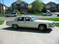 79 CADILLAC MINT CONDITION
