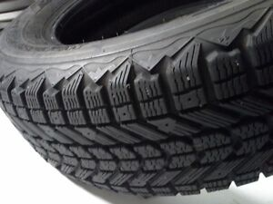 New Firestone P215/65R17 snow tires for Chevy Uplander
