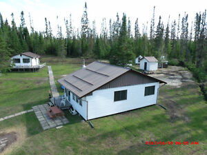 TWO CAMPS FOR SALE ON ONE LOT- 1 HR north of Cochrane