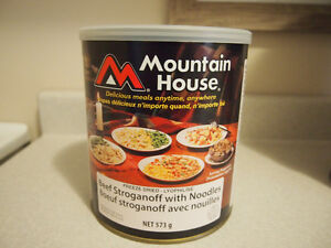Mountain House Freeze-dried foods $15 each #10 cans