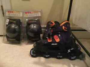Rollerblades size 8 used once