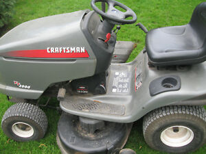 craft man mower for sale 18.5 hp