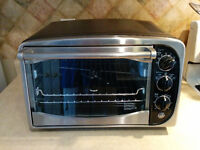 GE rotisserie/toaster/convection oven - practically NEW