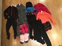 Bundle ski clothes 4 years old