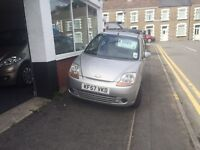Cheap Px to Chevrolet matiz new mot 57 reg