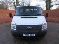 FORD TRANSIT 350 ONE STOP TIPPER MWB 125 BHP 3 SEATS