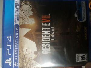 FS: RESIDENT EVIL 7 PS4 (IN HAND NOW)