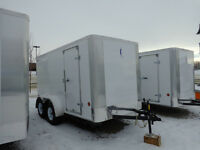 2015 ROYAL CARGO LIGHTNING 7X14 BARN OR RAMP DOOR