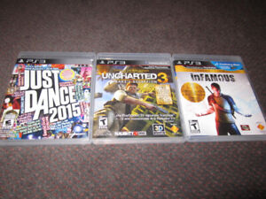 SPRING Assortment of PS3 Games - NEW, store-opened $15 -$18