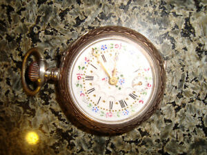 Gold antique pocket watch