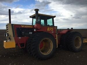 Versatile 875 for sale, like new rubber