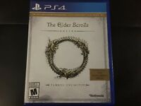 MINT CONDITION PS4 COPY OF THE ELDER SCROLLS: ONLINE***USED ONCE