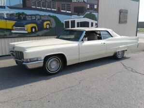1969 Cadillac Deville ready to cruise.