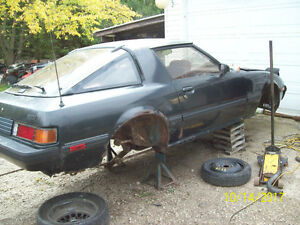 1985 MAZDA RX7 GSL SE FOR PARTS