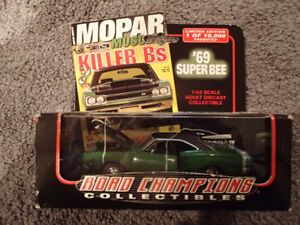 1:43 SCALE DIE-CAST ROAD CHAMPIONS 1969 DODGE SUPER BEE F-8