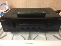 Sony amplifier 70w per channel with remote