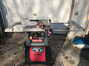 10 Inch Craftsman Table Saw