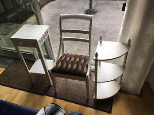 White furniture - Must be sold by Thursday