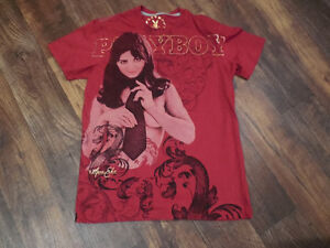 Pre worn Authentic Playboy t-shirt , adult size Large