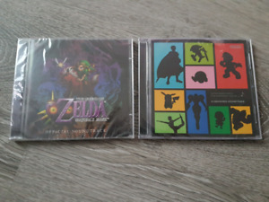 SEALED Nintendo Soundtracks
